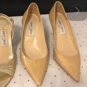 🥰FREE,Authentic Jimmy Choo shoes